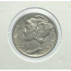 USA - Mercury Dime 1943