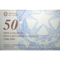 Lire 10.000 Proclamazione Repubblica