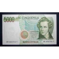 5000 Lire 1988 Bellini