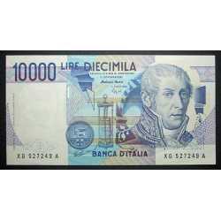 10.000 Lire A. Volta 1998 XG