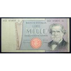 1000 Lire Verdi II° 1980