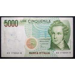 5000 Lire Bellini 2001 XD
