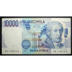 10.000 Lire A. Volta 2001 XK