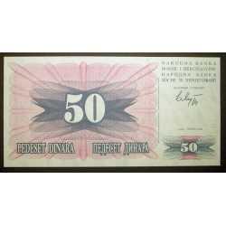 Bosnia - 50 Dinara