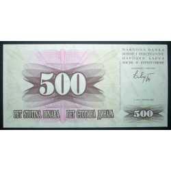 Bosnia - 500 Dinara