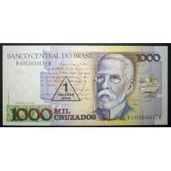 Brazil - 1 Cruzado Novo