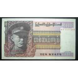 Burma, Birmania - 10 Kyat 1973