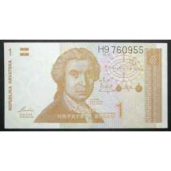 Croatia - 1 Dinar 1991