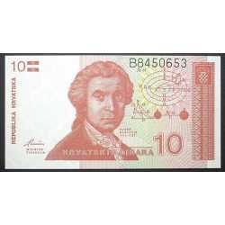 Croatia - 10 Dinar 1991