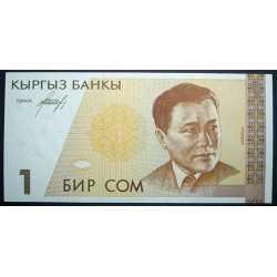Kyrgyzstan - 1 Som 1994