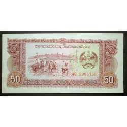 Laos - 50 Kip 1979