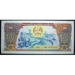 Laos - 500 Kip 1988
