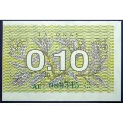 Lithuania - 0,10 Talonas 1991