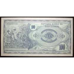 Macedonia - 100 Denar 1992