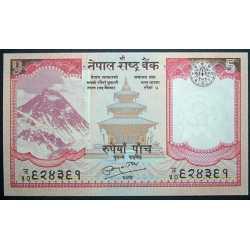 Nepal - 5 Rupees 2008
