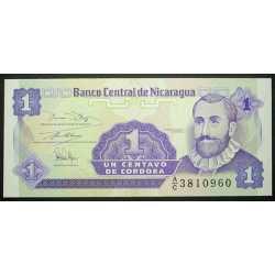 Nicaragua - 1 Centavo 1991