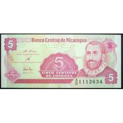 Nicaragua - 5 Centavos 1991