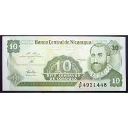 Nicaragua - 10 Centavos 1991