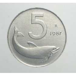 5 Lire 1987