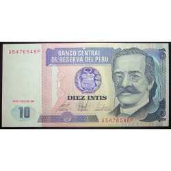 Perù - 10 Intis 1987