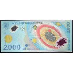 Romania - 2000 Lei 1999 Polymer