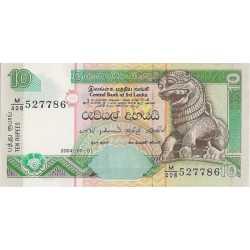 Sri Lanka - 10 Rupees 2004