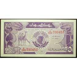 Sudan - 25 Piastres 1987