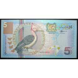 Suriname - 5 Gulden 2000