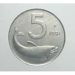 5 Lire 1991