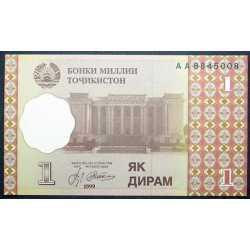 Tajikistan - 1 Diram 1999