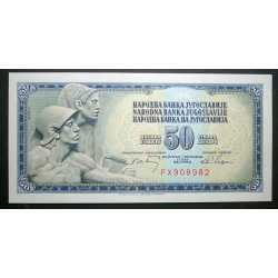 Yugoslavia - 50 Dinara 1968