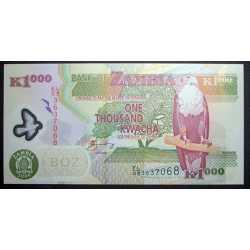 Zambia - 1000 Kwacha 2009 Polymer