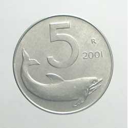 5 Lire 2001