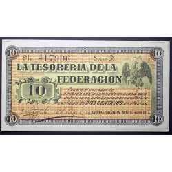 Mexico - 10 Centavos 1914 Sonora