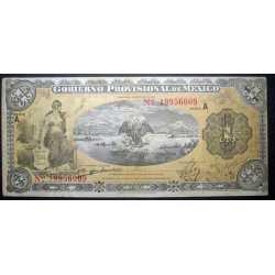 Mexico - 1 Peso 1914 Gobierno Provisional