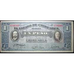 Mexico - 1 Peso 1915 Chihuahua