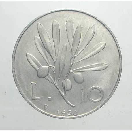 10 Lire 1950