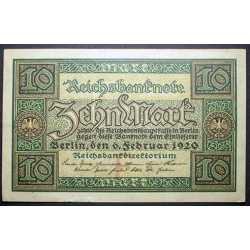 Germany - 10 Mark 1920