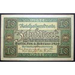 Germany - 10 Mark 1920