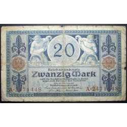Germany - 20 Mark 1915