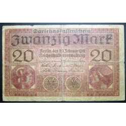 Germany - 20 Mark 1918