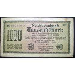 Germany - 1000 Mark 1922