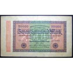 Germany - 20.000 Mark 1923