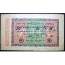 Germany - 20.000 Mark 1923