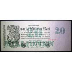 Germany - 20 Millionen Mark 1923