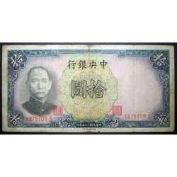 China - 10 Yuan 1936