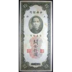 China - 10 Customs 1930