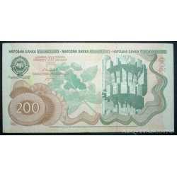 Yugoslavia - 200 Dinara 1990
