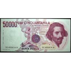 50.000 Lire Bernini I° 1986
