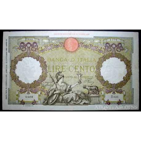 100 Lire Capranesi 1941